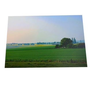 French Countryside Giclée on Canvas For Sale