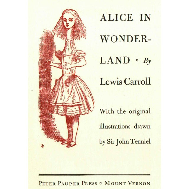 """Alice in Wonderland"" Book Circa 1960 - Image 3 of 4"