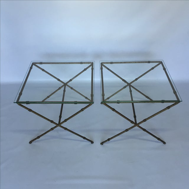 Hollywood Regency Accent Tables - A Pair - Image 2 of 8