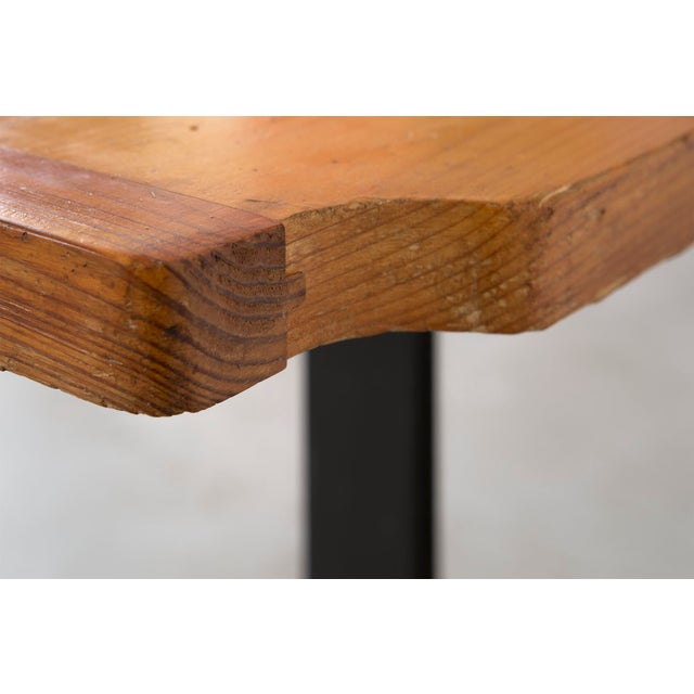 Mid-Century Modern Les Arcs Occasional Table by Charlotte Perriand For Sale - Image 3 of 8
