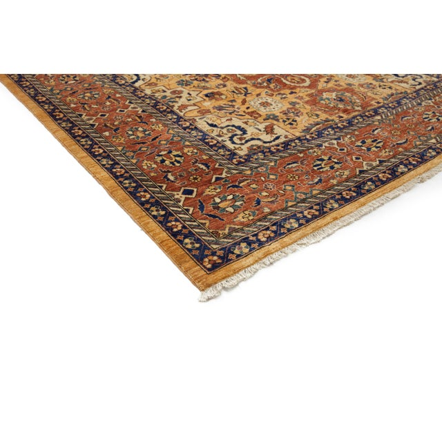 """Traditional Hand Knotted Area Rug - 5'8"""" X 7'10"""" - Image 2 of 3"""