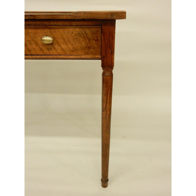 18th C. French Provincial Walnut Side Table For Sale In New Orleans - Image 6 of 9