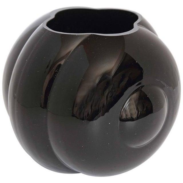 George Sakier Fostoria Modernist Fishbowl Vase For Sale - Image 11 of 11