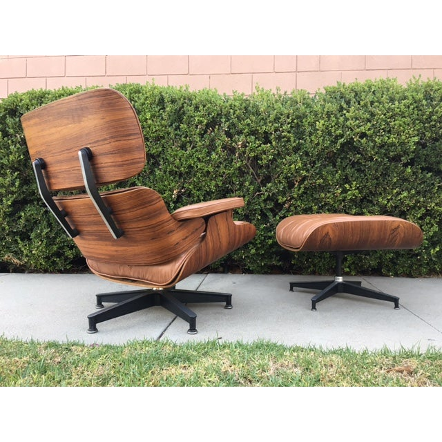 Eames Rosewood Lounge Chair & Ottoman - Image 5 of 8