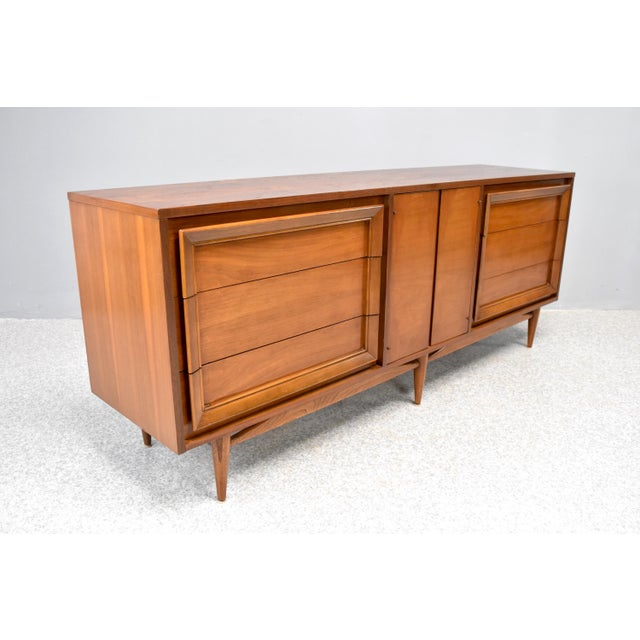 Mid-Century Modern Dresser/Credenza by Basic Witz For Sale - Image 4 of 12