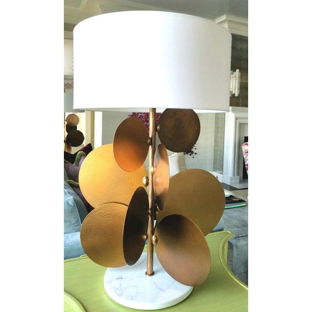 Brand: RALPH PUCCI France Designer: Herve Van Der Straeten Herve Van Der Straeten, Lamp Pastilles 373 Marble base hammered...