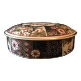 Image of Antique Imari Porcelain Bowl With Lid For Sale