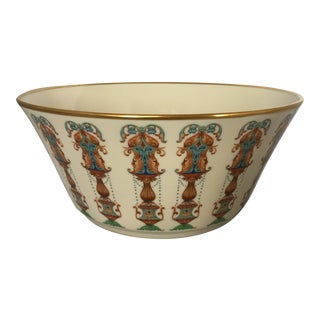 """Large Lenox """"Lido Collection"""" Gilded Bowl"""