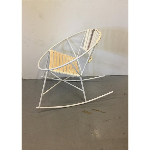 Mid-Century Outdoor Rocking Chair - Image 8 of 8