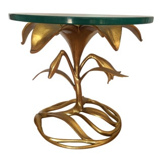 Arthur Court Lily Side Table