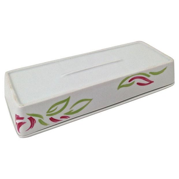 Vintage Tri-Section Box With Lid - Image 7 of 7