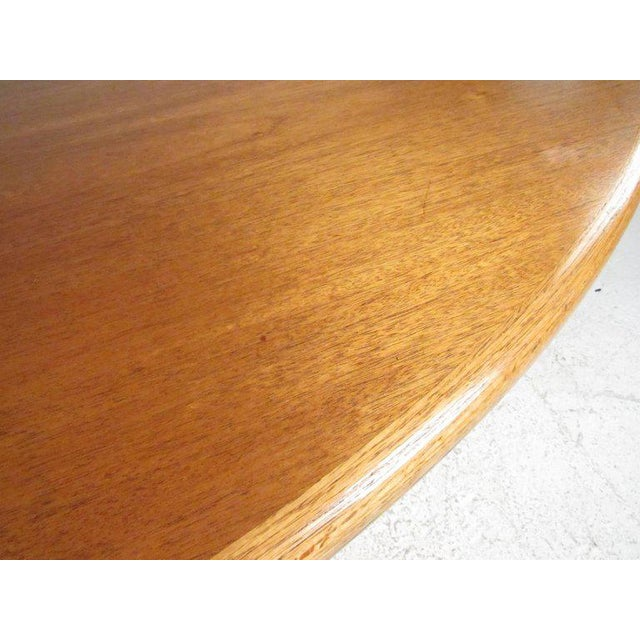 1960s Scandinavian Modern Teak Centre Table For Sale - Image 5 of 11