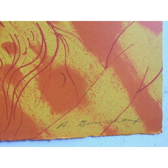 "Robert Beauchamp Original Lithograph "" Riders"" - Image 3 of 6"
