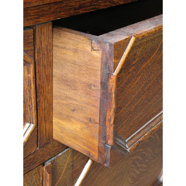 Oak Twist Leg Sideboard - Image 5 of 8