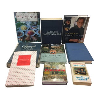 Decoorative French Cookbook Lot 9 Books