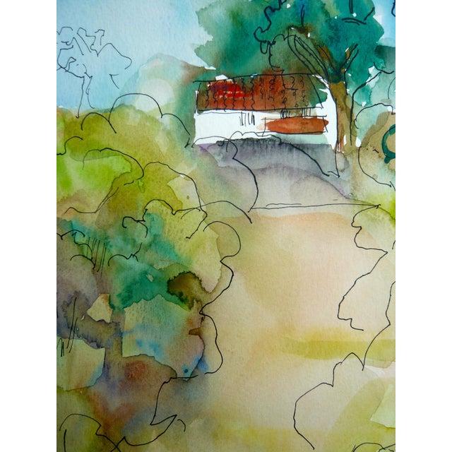 Ranch Santa Barbara Painting by M. Holden - Image 4 of 5