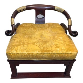 Single Horseshoe Chow Chair For Sale