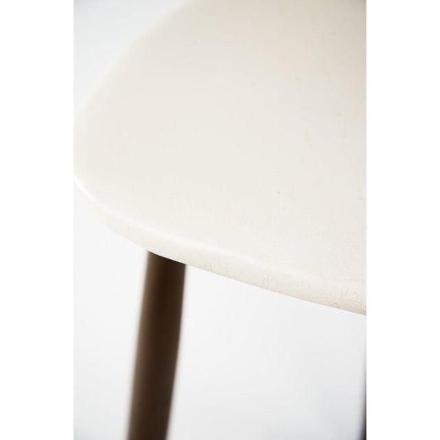 Plastic Seymour James Wiener for Kodawood Mid-Century Vinyl Swivel Barstools - A Pair For Sale - Image 7 of 13