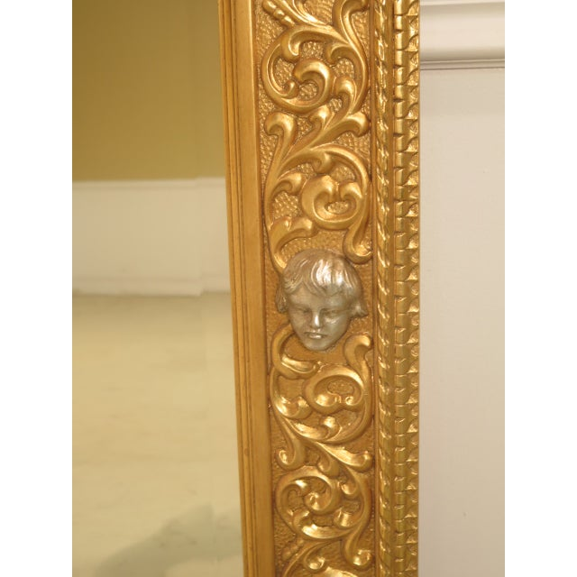 Friedman Brothers Custom Mirror With Cherub Heads - Image 9 of 11