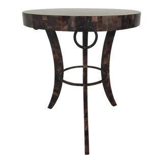 Eric Brand Tortoise Shell Side Table