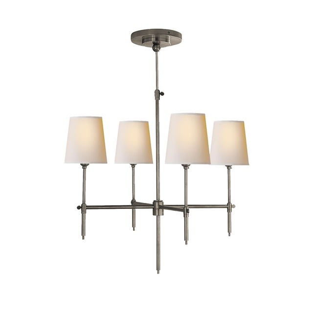 """Thomas O'Brien for Visual Comort """"Bryant"""" Chandelier For Sale - Image 9 of 9"""