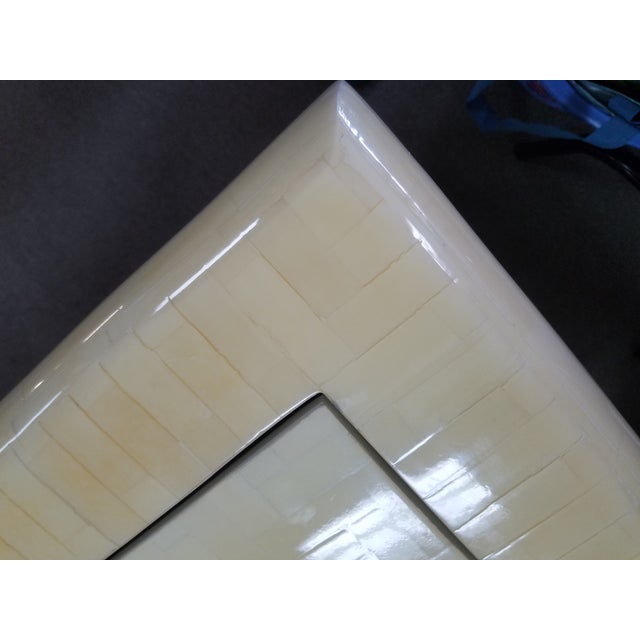 Bone 1970's Tessellated Bone Gaming Table For Sale - Image 7 of 12