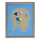 Image of Modernist Swedish Oil Painting For Sale