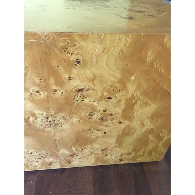 Burl Cube Coffee Table - Image 5 of 9