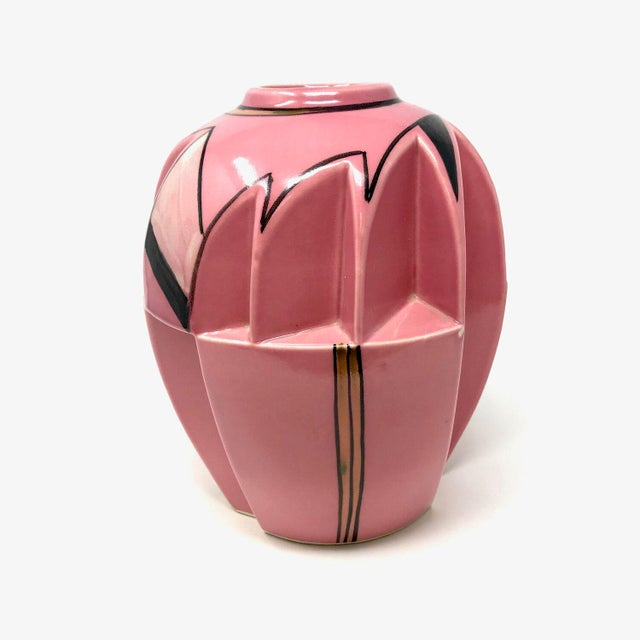 1930s Futura-Style Vase For Sale - Image 4 of 7