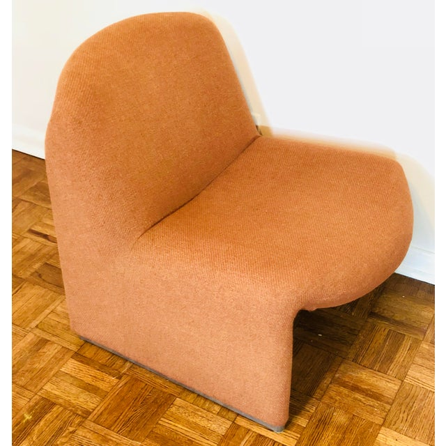 Orange Alky Chair by Giancarlo Piretti for Castelli, Italy, 1970s For Sale - Image 8 of 8