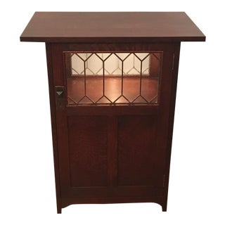 Stickley Roycroft Chafing Dish Cabinet