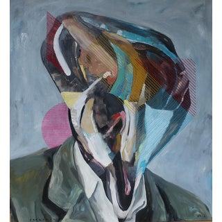 """Contemporary """"Shape of Face No. 5"""" Original Artwork by Iqi Qoror For Sale"""