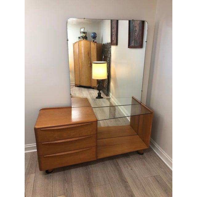 Heywood Wakefield Mid Century Modern Vanity For Sale - Image 10 of 10