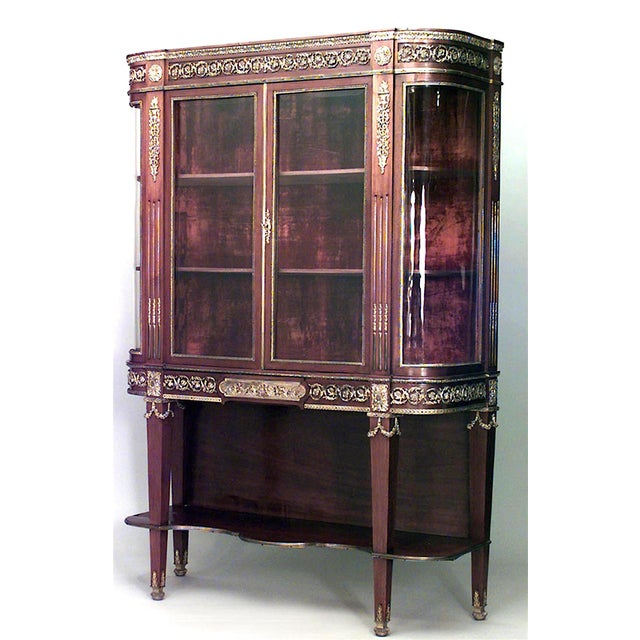 Mid 19th Century French Louis XVI Style Cabinet For Sale - Image 5 of 5