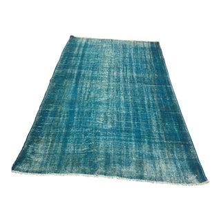 """Vintage Anatolian Handmade Floor Rug - 5'2"""" x 9'3"""""""