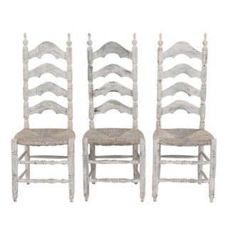 Traditional Set of Six French Provincial Dining Chairs Preview
