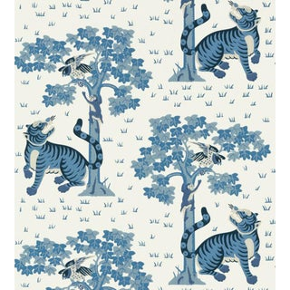 Kahna Wallpaper by Anna French - Sample For Sale