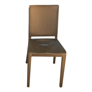 Modern Emeco Hudson Hand Brushed Recycled Aluminum Chair For Sale