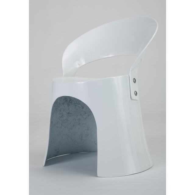 Oddense Maskinsnedkeri Nanna Ditzel Fiberglass Accent Chair by Odense For Sale - Image 4 of 10