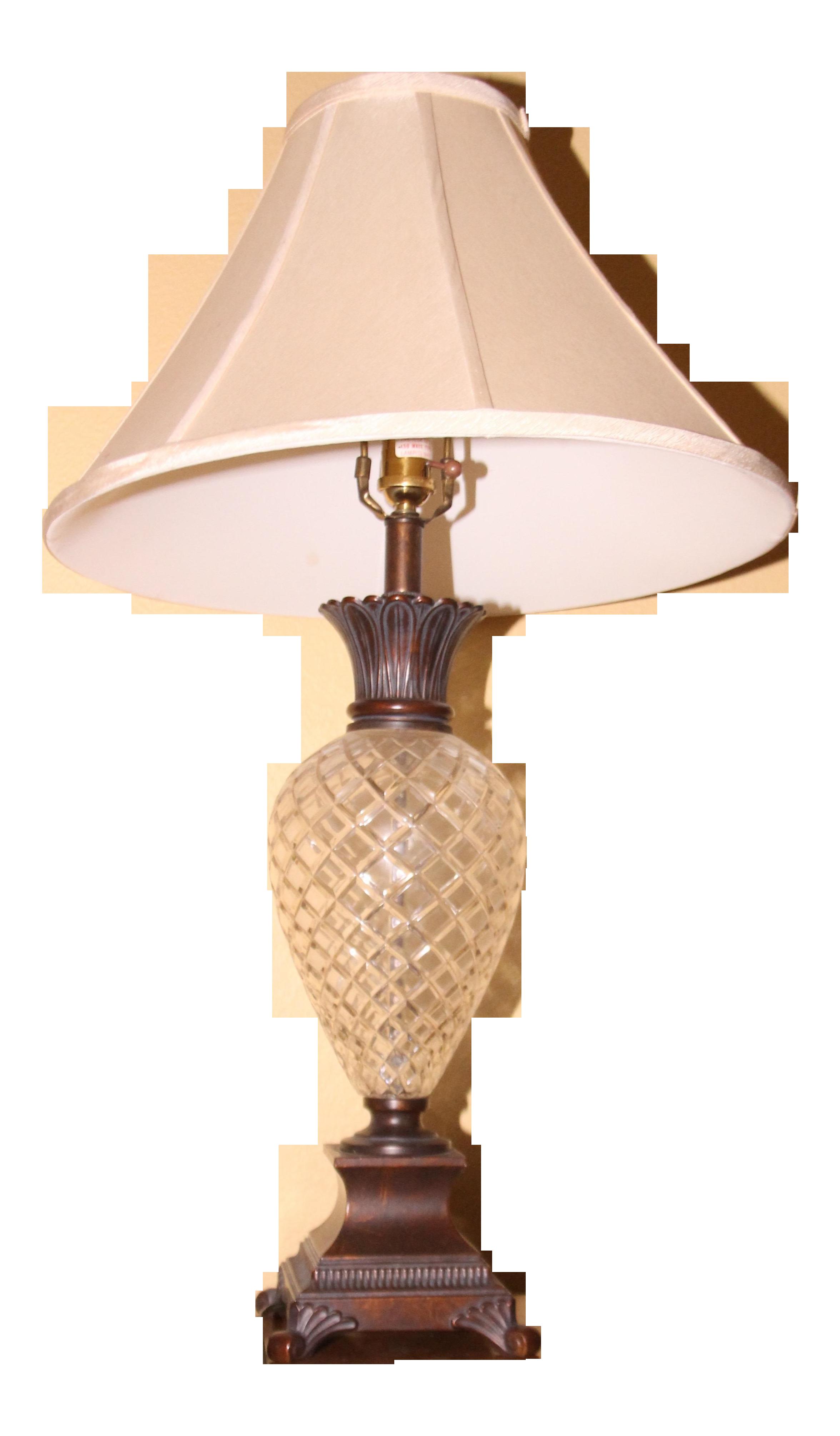 Ethan allen pineapple lamp