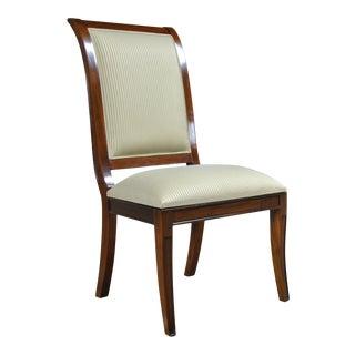 Regency Upholstered Dining Chair For Sale