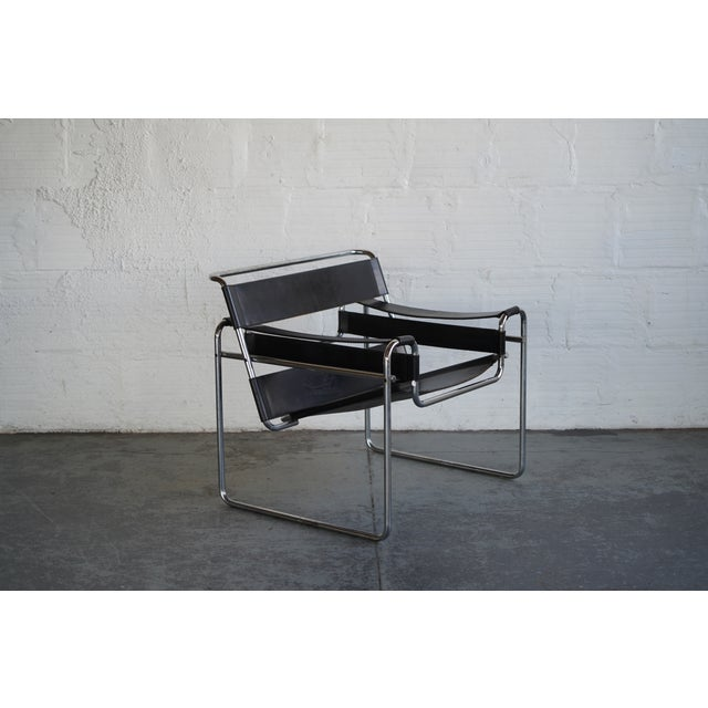 Mid 20th Century Mid 20th Century Wassily Chair by Marcel Breuer For Sale - Image 5 of 5