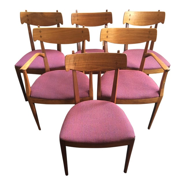 Kipp Stewart Dining Chairs for Drexel - Set of 6 - Image 1 of 11