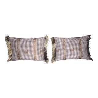 Cowboy Decorative Pillows - A Pair For Sale