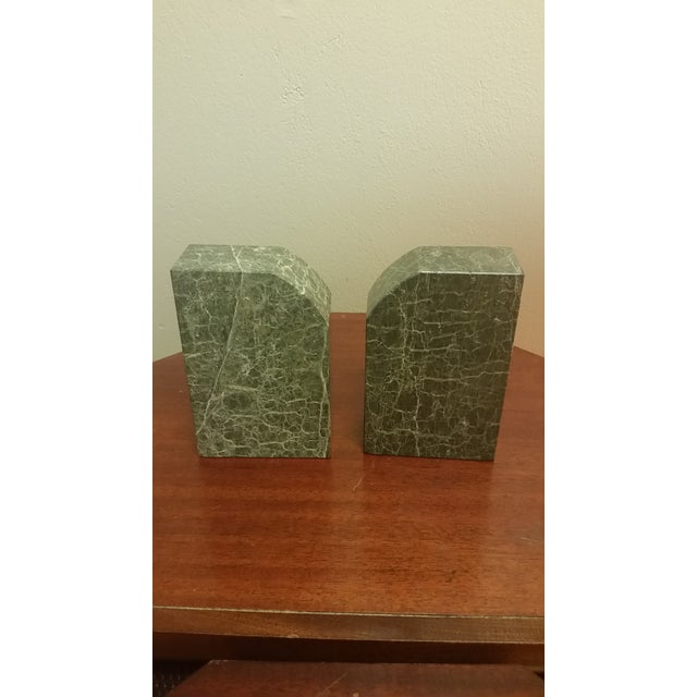 2000 - 2009 Vintage Bey-Berk Marble Medical Profession Bookends - a Pair For Sale - Image 5 of 8