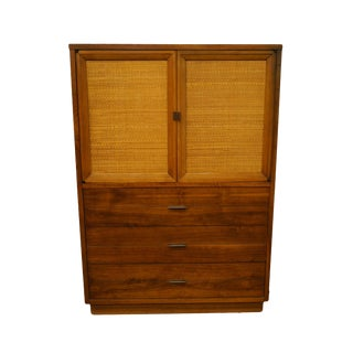 Vintage Lane Furniture Alta Vista Mid Century Modern Armoire For Sale