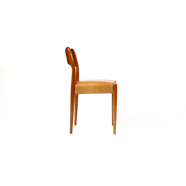 1960s Vintage Mid Century Danish a.h. Olsen for Mogens Kold Teak Dining Chairs- Set of 6 For Sale - Image 5 of 10