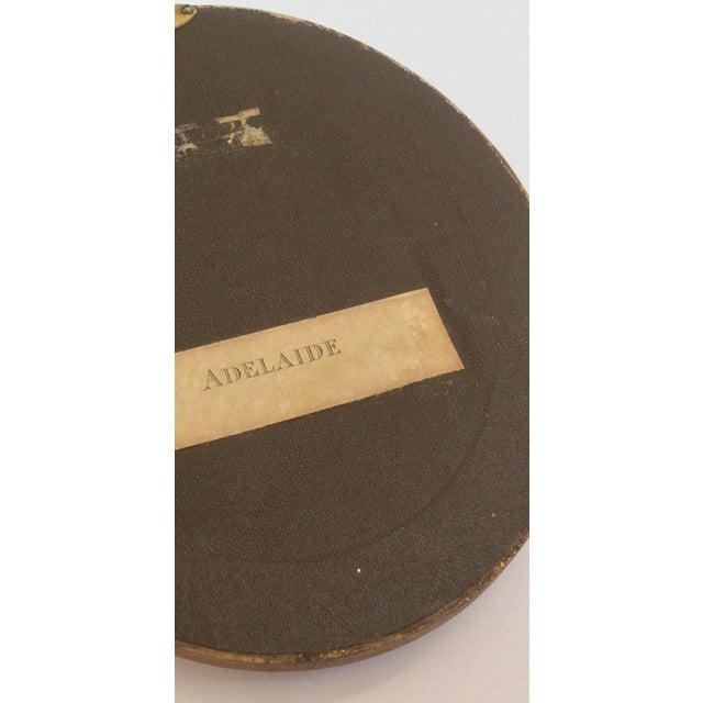 Antique Oval Framed Antique Mezzotints - A Pair - Image 8 of 9