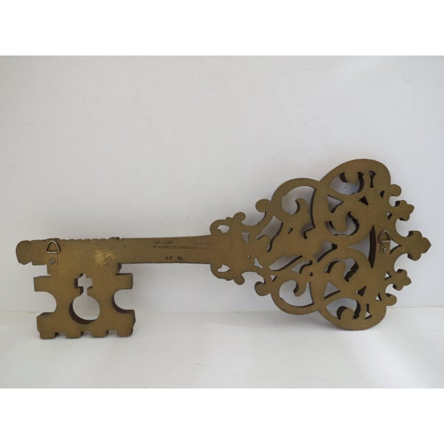 Gold Skeleton Key Wall Hanging - Image 6 of 6