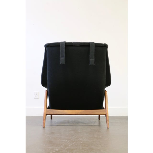 1960s Folke Ohlsson for Dux Lounge Chair & Ottoman For Sale - Image 5 of 13